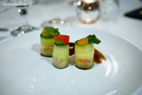 Dockside Restaurant - Cucumber Caprese