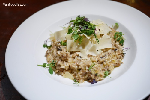 Dockside Restaurant - Mushroom Goat Cheese Risotto