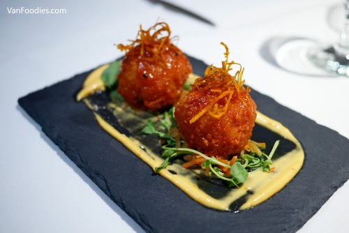 Dockside Restaurant - Korean Spiced Arancini