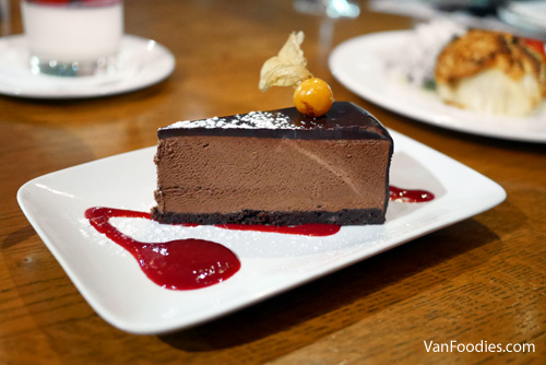 Sandbar DOVF 2019 Chocolate Truffle Cake