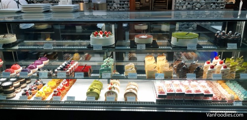 Cakes at La Foret