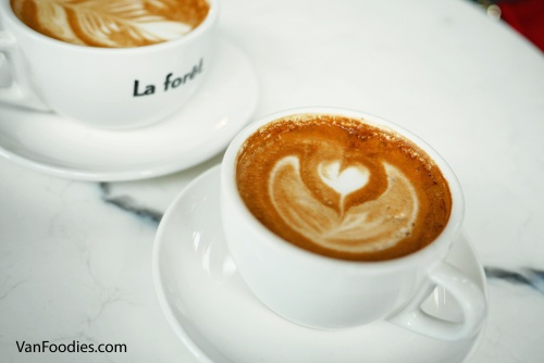 Coffee at La Foret