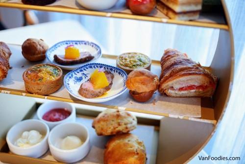 Savoury Items, Afternoon Tea at Origo Club