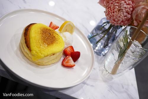 Souffle Pancakes, Fufu Cafe Vancouver